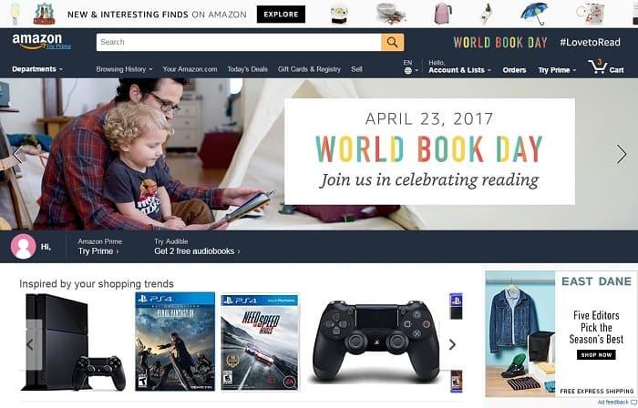 các trang web bán hàng online nước ngoài