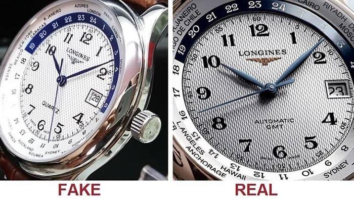 cách nhận biết đồng hồ chính hãng