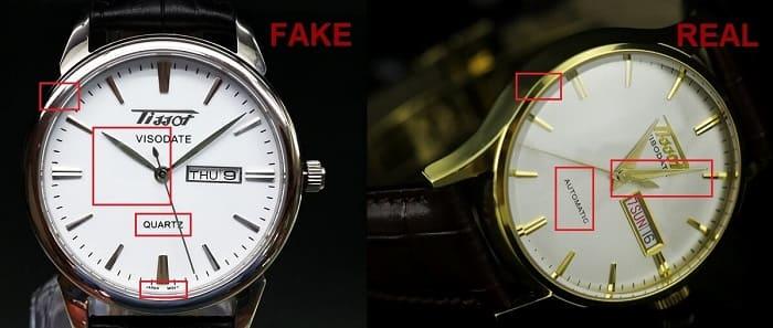 cách nhận biết đồng hồ thật giả