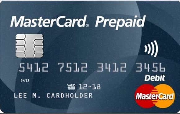 thẻ mastercard prepaid