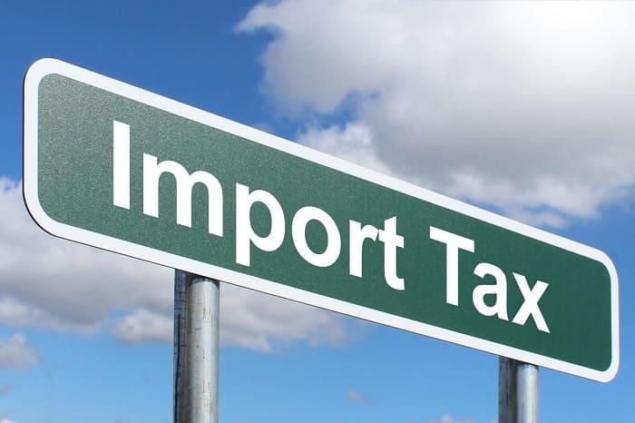 thuế khi mua hàng từ nước ngoài
