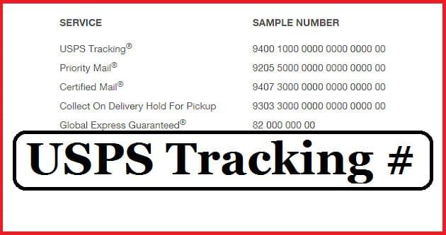tracking number là gì