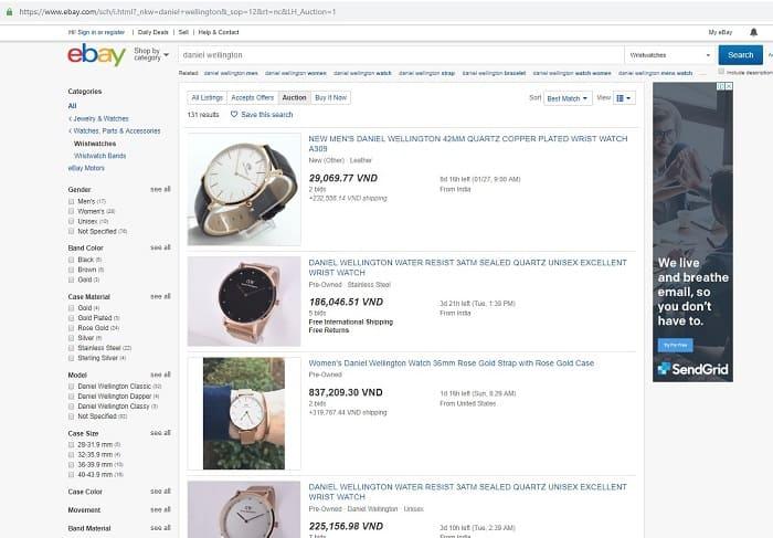 trang web bán đồng hồ uy tín ở mỹ
