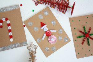 Thiệp Giáng sinh handmade độc đáo
