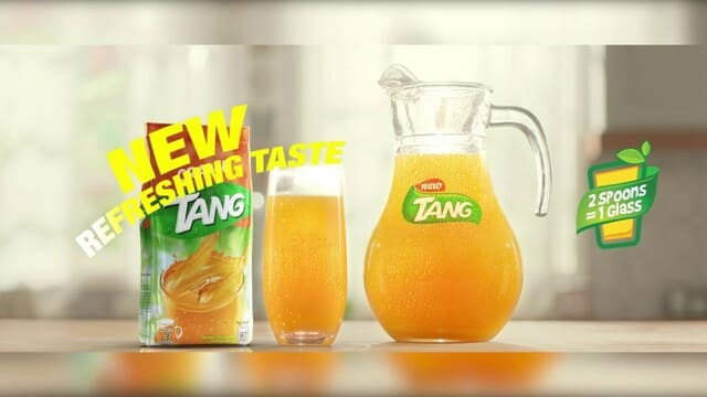 Bột cam Tang uống ngon khi dùng lạnh