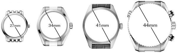 Đo size mặt đồng hồ phù hợp với cổ tay