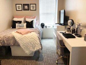 Các cô nàng cá tính, hiện đại chắc chắn sẽ thích ý tưởng decor căn phòng này